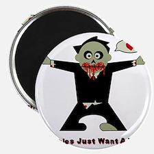 Zombie Hug Magnet