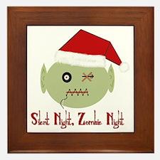 Zombie Night Framed Tile