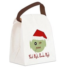Zombie Night Canvas Lunch Bag