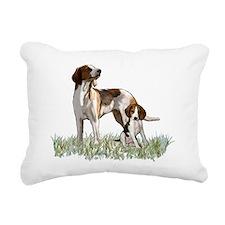 walker coonhounds Rectangular Canvas Pillow