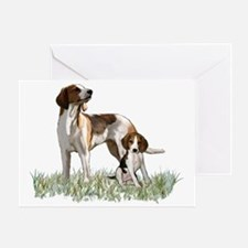 walker coonhounds Greeting Card