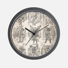 -9Angels8x10 Wall Clock