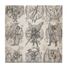 -9Angels8x10 Tile Coaster