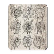 -9Angels8x10 Mousepad