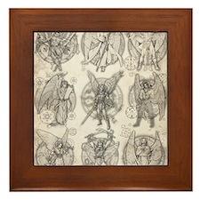 -9Angels8x10 Framed Tile
