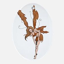 nutmeg Oval Ornament