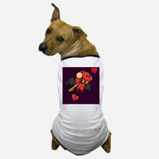 cupid_cold_purple Dog T-Shirt