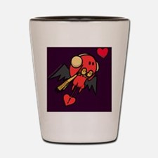 cupid_cold_purple Shot Glass