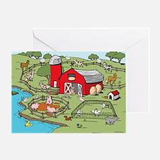 FarmScenePZ Greeting Card
