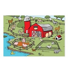 FarmScenePZ Postcards (Package of 8)