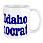 Ceramic Idaho Democrat Coffee Mug