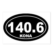 140_kona_blk Postcards (Package of 8)
