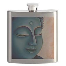 Blue Goddess of Compassion Flask