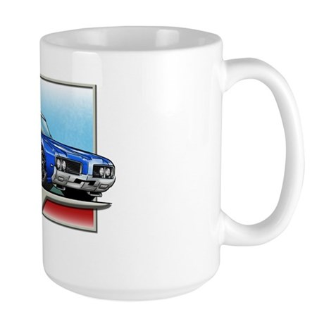 1969 Blue Cutlass Large Mug