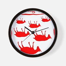 FG_Big_R Wall Clock