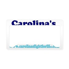 wht-t-front-1 License Plate Holder