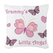 grammysangel Woven Throw Pillow