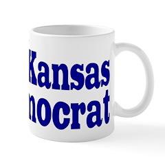 Kansas Democrat Coffee Mug