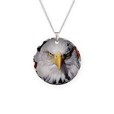 acrghat Necklace Circle Charm