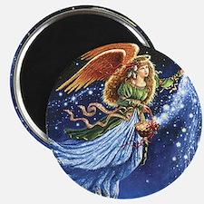 Angel Star Basket_Tile Magnet