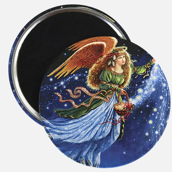Angel Star Basket_Tile Magnet