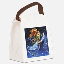 Angel Star Basket_Tile Canvas Lunch Bag
