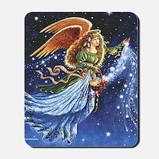 Angel Star Basket_Tile Mousepad