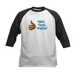 Thumb Wrestle Kids Baseball Jersey