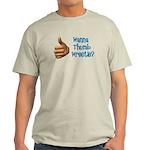 Thumb Wrestle Light T-Shirt