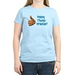 Thumb Wrestle Women's Light T-Shirt