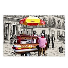 Cover-Lucky Dog Postcards (Package of 8)
