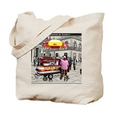 Cover-Lucky Dog Tote Bag