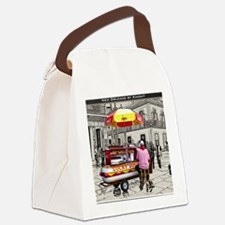 Cover-Lucky Dog Canvas Lunch Bag