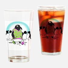 Penguin Postcard 2011 Drinking Glass