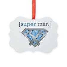 Objective-C Super Man | Apple Gee Ornament