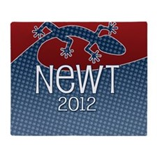 coaster-square_newt_01 Throw Blanket