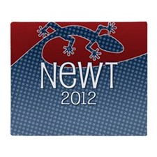 button_newt_01 Throw Blanket