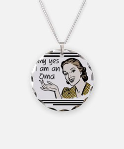 whyyesoma Necklace Circle Charm