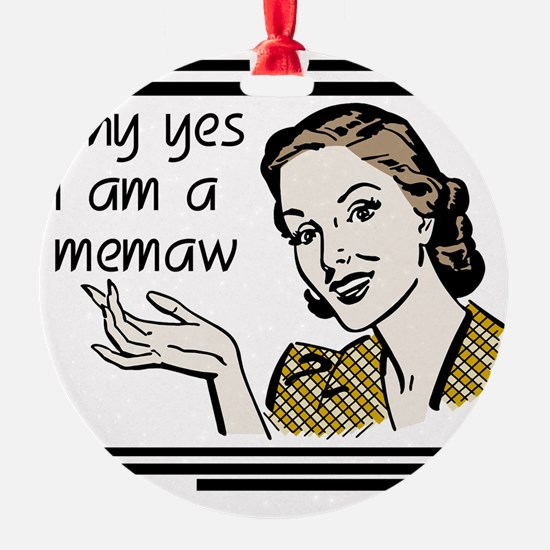 whyyesmemaw Ornament