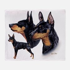 Min Pin Multi Throw Blanket