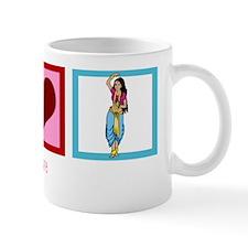 peacelovebellydancingwh Mug