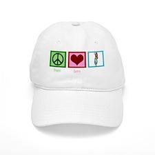peacelovebellydancingwh Baseball Cap