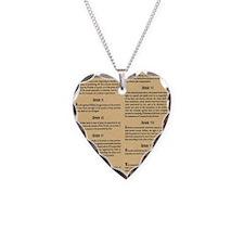 billofrights Necklace Heart Charm