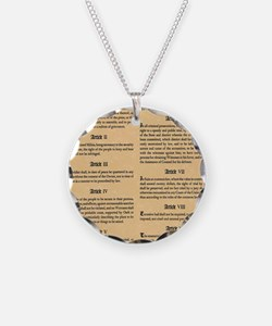 billofrights Necklace Circle Charm