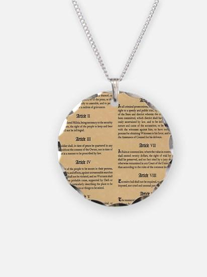 billofrights Necklace Circle Charm