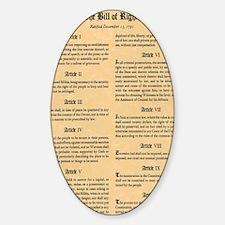 billofrights Sticker (Oval)