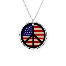 americanflagpeace Necklace