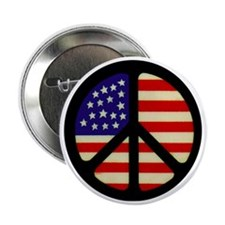 "americanflagpeace 2.25"" Button"