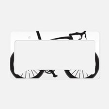 BARB_blk License Plate Holder