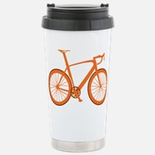 BARB_orange Stainless Steel Travel Mug
